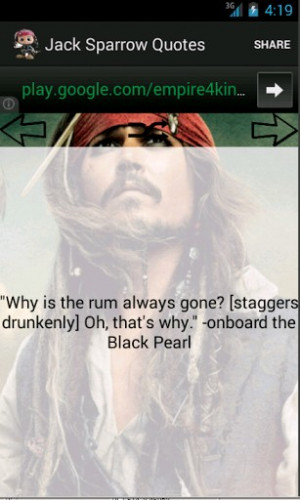 Jack Sparrow Quotes Screenshot 4