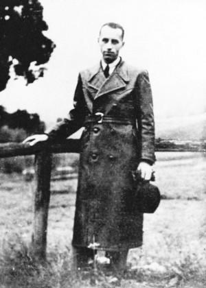 SS-Hauptsturmführer Alois Brunner in Straßburg. He was the