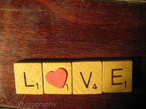 Scrabble Love Words