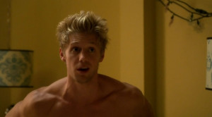 Matt Barr Shirtless Hellcats