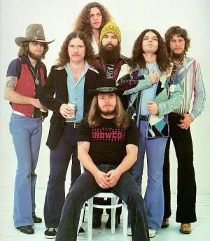 Lynyrd Skynyrd negli anni '70 (www.musicparade.it)