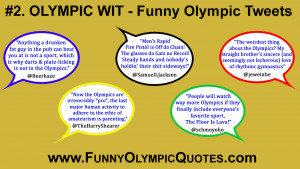Funny Olympics Tweets - free download from Olympic Wit