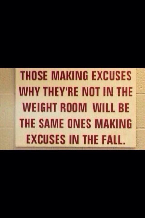 Weight room quotes quotesgram for Small room quotes