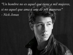 Nick Jonas Quote by MajuCastilloDL
