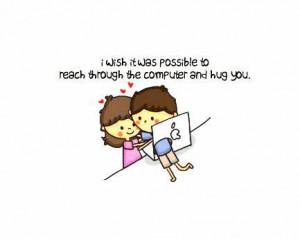cute, hug, love, text