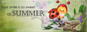 Sweet as Summer Facebook Cover