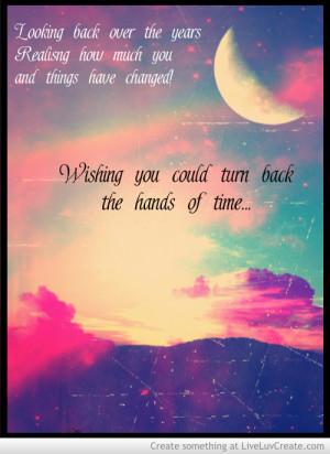Change Turn Back Time