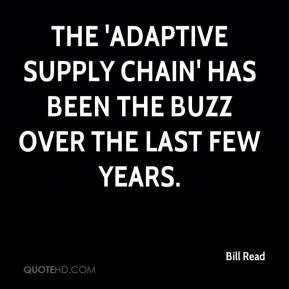 adeptive supply cahin The risks and reward of an adaptive supply chain- directions for sap cyd  riede, scm solution principal bob ferrari, director, mysap scm business.