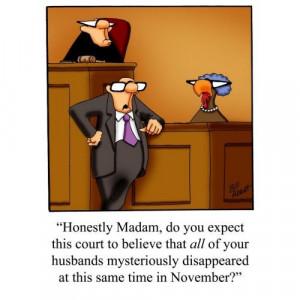 Funny Thanksgiving Turkey Trial! apron