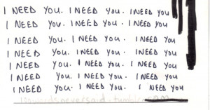 ... lovely truth i need you needs typo handwritting facts teen teen quote
