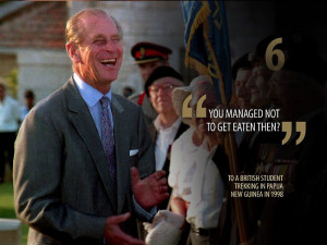 Galleries: Prince Philip King of Gaffes