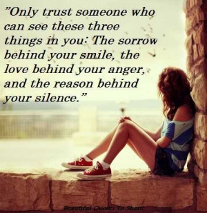 Quotes About Trust And Love Life love quotes only trust