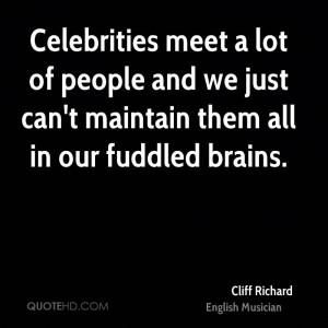 Cliff Richard Quotes