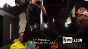 Kid imitates Melisaa Gorga pole dancing in Real Housewives of New ...