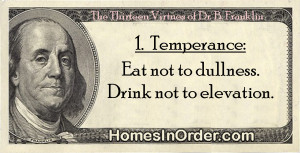 Temperance Quotes Temperance: eat not to