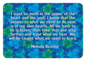 Dooda Creations › Portfolio › Melody Beattie Quote