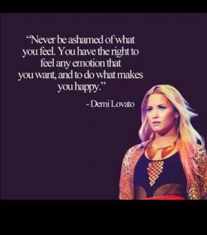 Bullying Quotes Demi Lovato Demi lovato quote. feelings.