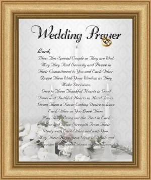 christian wedding blessings