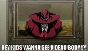 Hellsing Ultimate Abridged Quotes #5 by SiriuslyIronic