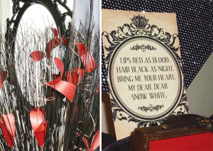 Elegant Evil Queen Inspired Snow White Party {Hostess for the Mostess}