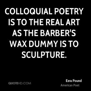 Ezra Pound Poetry Quotes