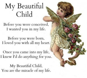 Meaningful quotes my beautiful child