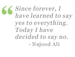 ... and Divorced: Nujood Ali and the Fight Against Child Brides in Yemen