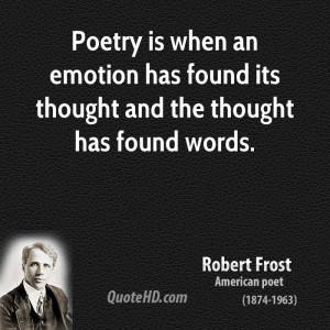 Robert Frost Poetry Quotes