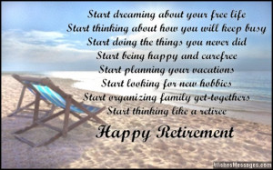 Happy Retirement Have Wishes