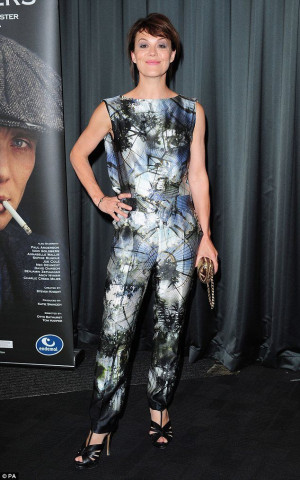 Helen McCrory attends a gala screening of Peaky Blinders at the BFI in ...