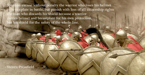 Spartans excuse...
