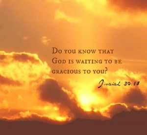 Christian Quote-God is waiting for you...