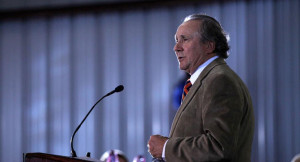 Michael Reagan, son of former President Ronald Reagan, introduces ...