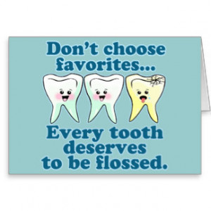 Funny Dentist Quotes Cards...