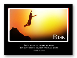 Risk Inspirational Quote