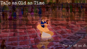 Disney Princess Belle and Prince Adam