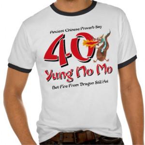 Funny 40th Birthday Sayings Humor