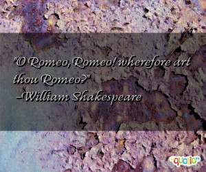 Romeo And Juliet Quote Gold