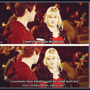 Pitch Perfect. Rebel Wilson. I wish I had a dollar for every time we ...