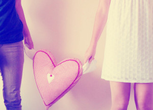 bff, boy, girl, heart, love, pastel, photography, pink, vintage