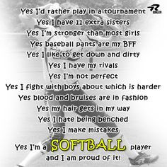 Back > Pix For > Softball Player Quotes