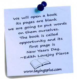 Inspirational new years quotes and sayings