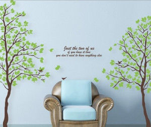 DIY-Large-Wall-Quote-Decor-Art-Decal-Sticker-Removable-green-tree ...