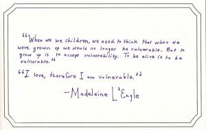 Vulnerability quote #2