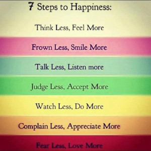 Steps To Happiness - Download Beautiful Hd Inspirational Quote Of ...