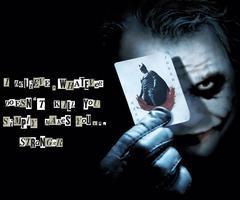 Joker Quotes Batman ~ Quotes the Joker Batman Dark Knight Wallpaper ...