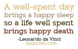 Happy Sleep Happy Death - MLQuotes