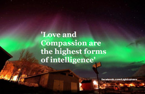 If compassion was the motivating factor behind all our decision.