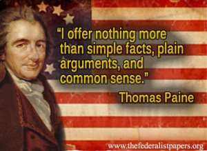 common sense he even wrote a book called common sense he also wrote a ...