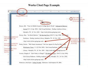 Works Cited Page Example - Download as PDF